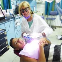 Dr. Arlene Stein & patient