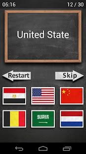 Flags Quiz screenshot