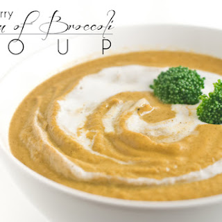 Paleo Curry Cream of Broccoli Soup
