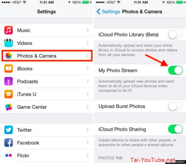 Hình 8 - Cách giải phóng dung lượng bộ nhớ trên iPhone