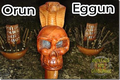 Eggun - Orun - Oro - egungum - espirito - ancestral - candomble - santeria - umbanda