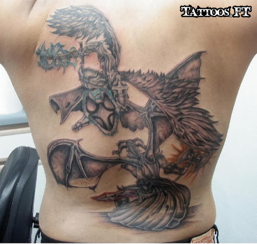 Good Vs Evil Tattoos Pictures Tattoos Ideas Pag2