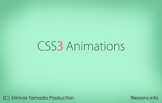 CSS3 Animation Effects with Keyframes
