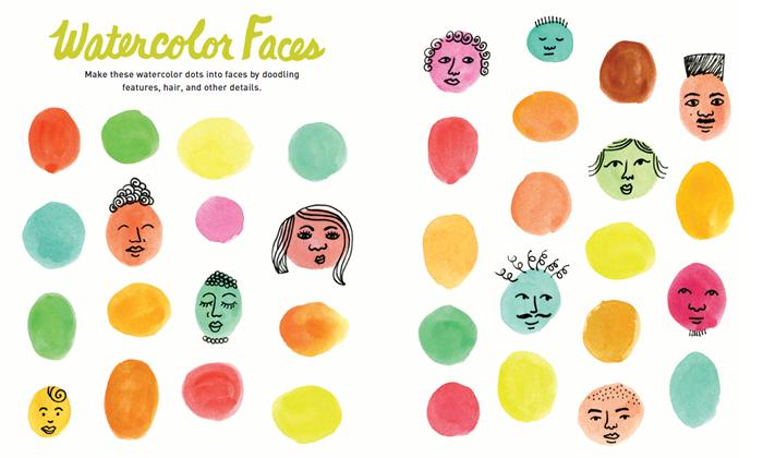 Watercolor Faces