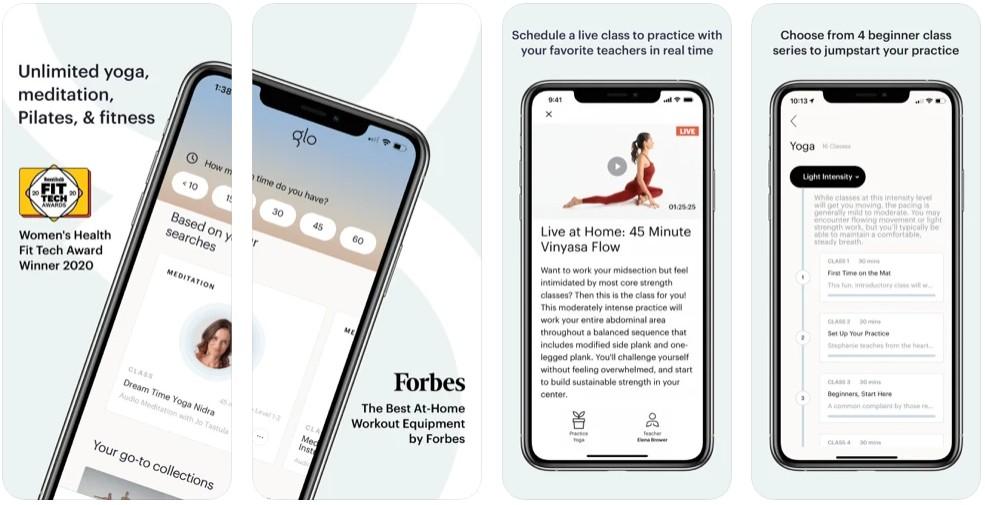 Glo | Yoga and Meditation App