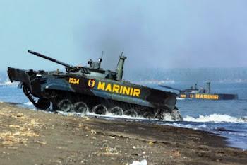 BMP-3F Marinir TNI-AL. PROKIMAL ONLINE Kotabumi Lampung Utara