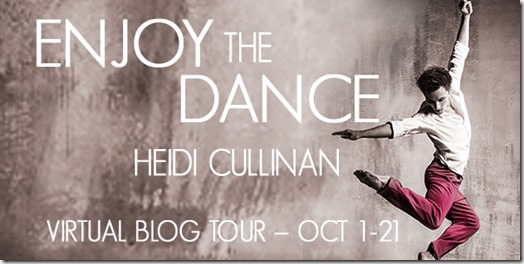 Enjoy the Dance Blog Tour Banner