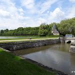 Château du Marais : parc et miroir