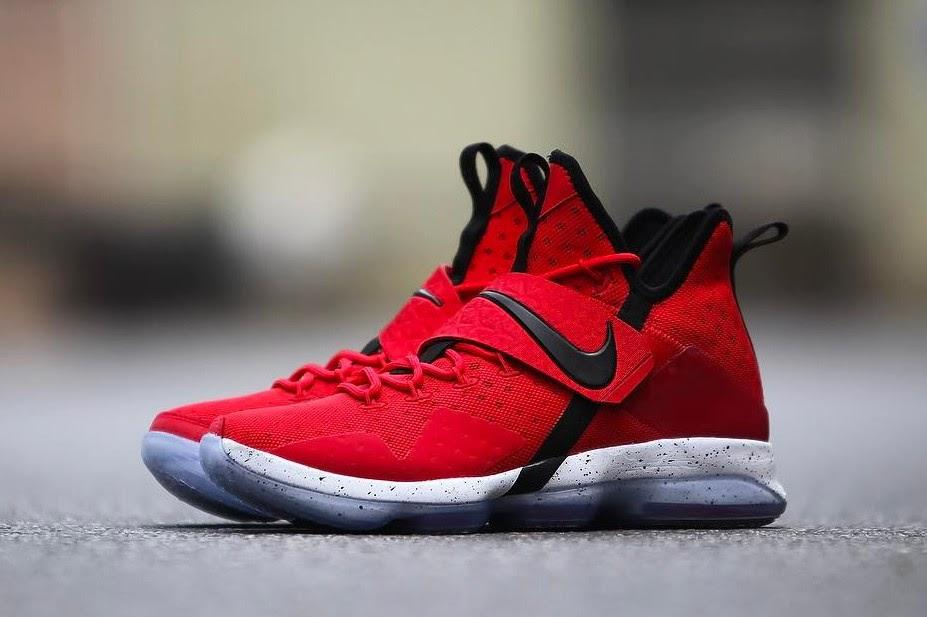 ... Nike LeBron 14 University Red Release Date ... 8825e0844
