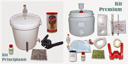 Kits para hacer cerveza