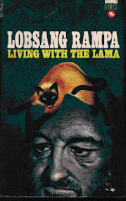 Cover of Tuesday Lobsang Rampa's Book Living with the Lama