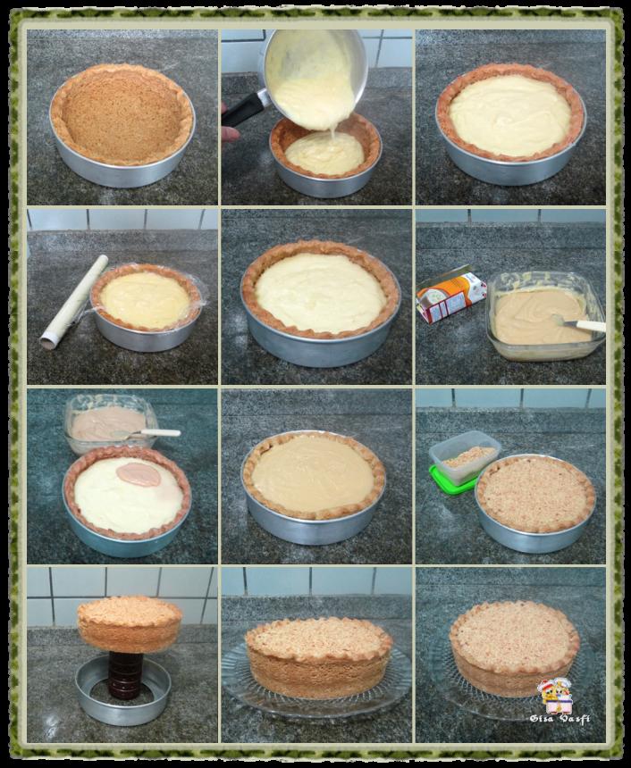 Torta de amendoim com doce de leite 5
