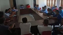 Disporapar Rapat Koordinasi Bersama KONI dan 36 Pengurus Cabor