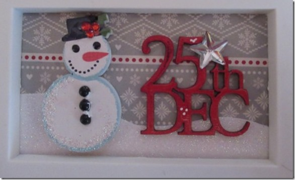 Christmas Craft Sampler frame