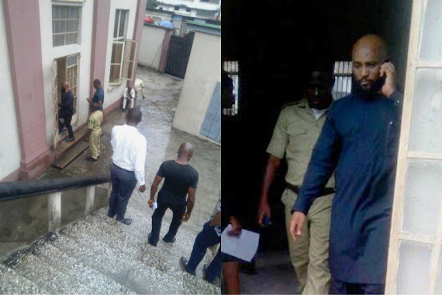 Atiku's Son Remanded in Cell For…. (See Details + Photos)
