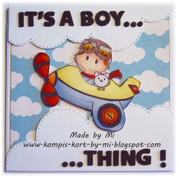 Marie - it's a boy