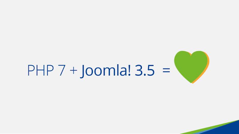 Joomla 3.5 PHP 7