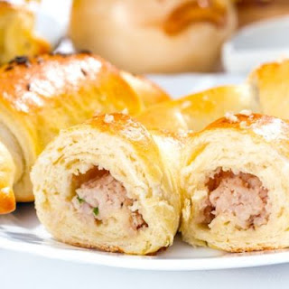 Stuffed Beef Crescent Rolls