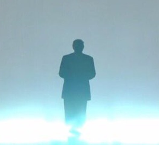 trump in the mist