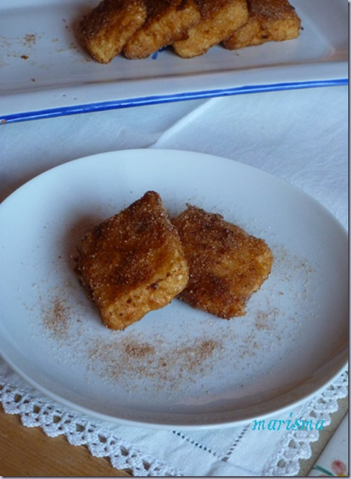 leche frita,racion copia