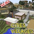 Cities and villages for minecraft file APK for Gaming PC/PS3/PS4 Smart TV