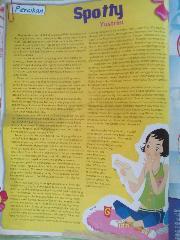 [Percikan] Spotty dimuat di majalah Gadis No.13/16-25 Mei 2006