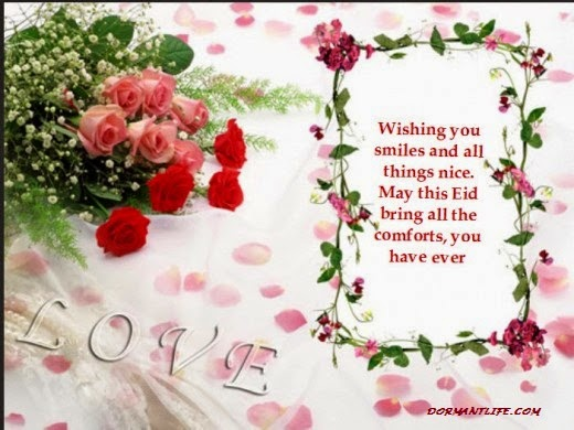 Wishing you Eid Mobarik - Eid Ul Fitr 2014: Greeting, Cards And SMS