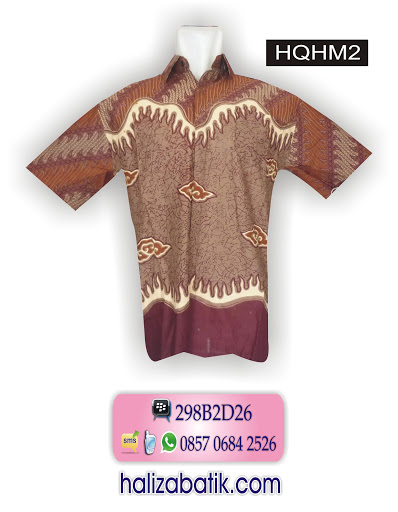 motif batik pekalongan, baju batik pria modern, model baju batik,