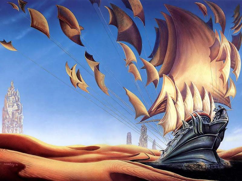 Horror Landscape Of Fantasy 3, Magical Landscapes 5