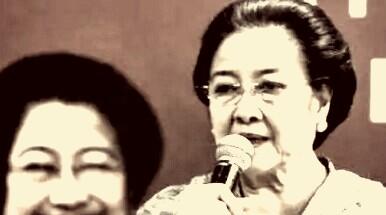Megawati, Anak dan Menantunya Ikut Mencoblos Di TPS 027