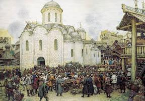 Оборона Москвы от хана Тохтамыша. XIV век, 1918