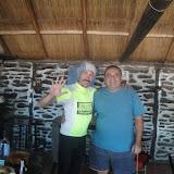 Con Juan, dopo 140 km volando, entro nel comedor e lui mi offre la bibita e un piatto di cappellettini...