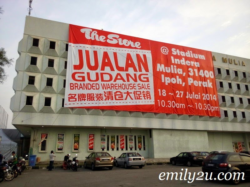 Jualan Gudang The Store: Branded Warehouse Sale
