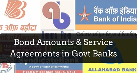 Service bond agreements public sector banks