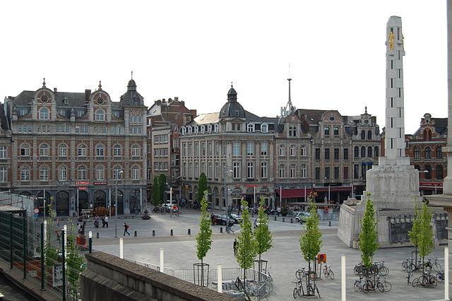 Martelarenplein - Leuven, Belgium
