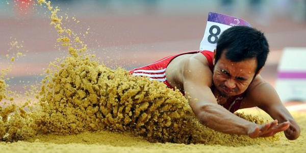 Setiyo Budi Hartanto Atlet Difabel Indonesia di Paralimpiade London 2012
