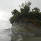 Las playas de Ladrilleros bajo la lluvia