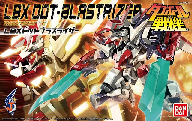 Đồ chơi lắp ghép Đấu sĩ LBX-049 Dot Blastrizer
