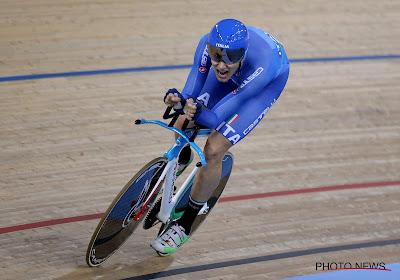 Filippo Ganna doet er nog een medaille bij op WK baanwielrennen en kan eindelijk aan rustperiode beginnen