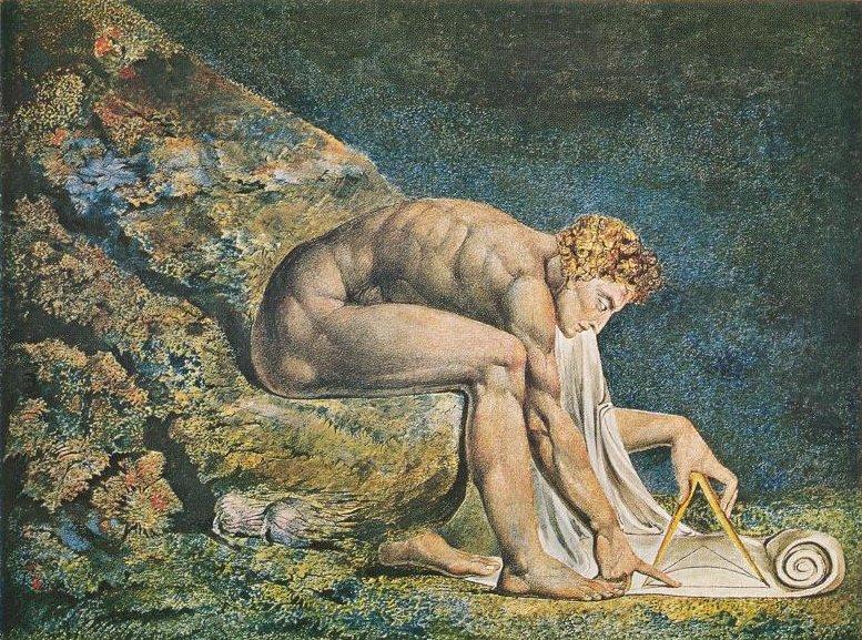 Blake Newton 1795 Demonstrates His Opposition, William Blake