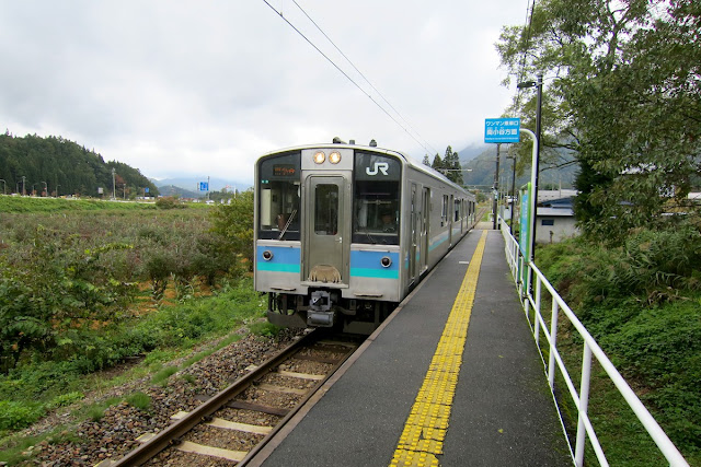 大糸線 飯森駅