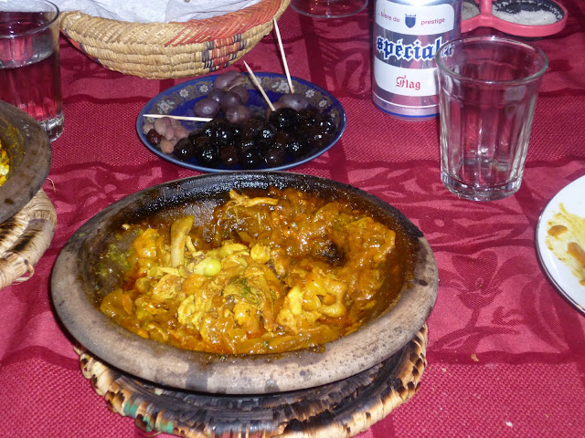 Tagine at Restaurant Marrakech in Tafraoute