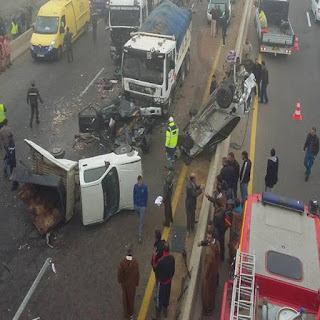 Accidents de la circulation: 44 morts et plus de 1.500 blessés en une semaine