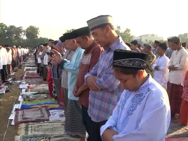Warga Muhammadiyah Sholat Idul Adha Hari Ini