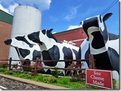 Big milk tanks