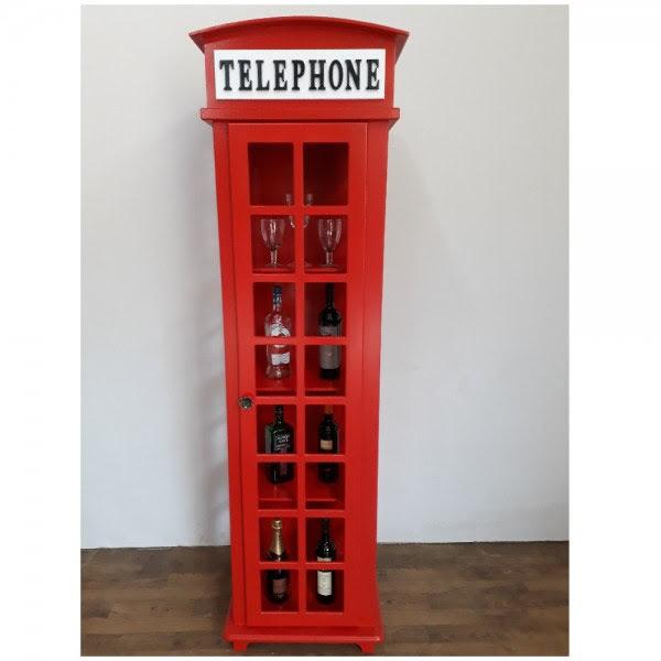 Cristaleira Cabine Telefônica