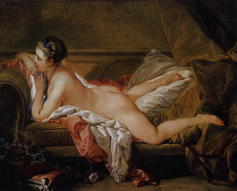 Francois Boucher - Blond Odalisque (L'Odalisque Blonde).