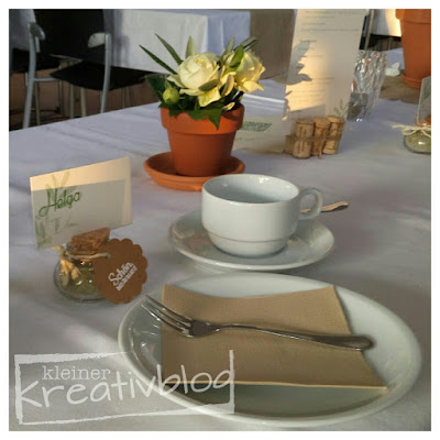 kleiner-kreativblog: Hochzeitsdeko