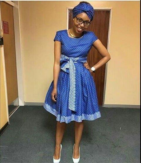 SOUTH AFRICAN ROCKS SHWESHWE DRESSES 2019 3