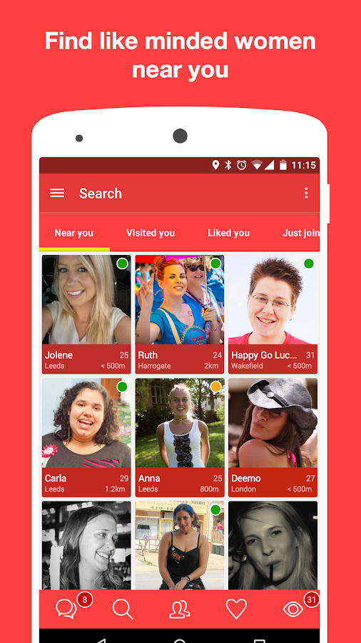 Only Women : Lesbian dating- screenshot